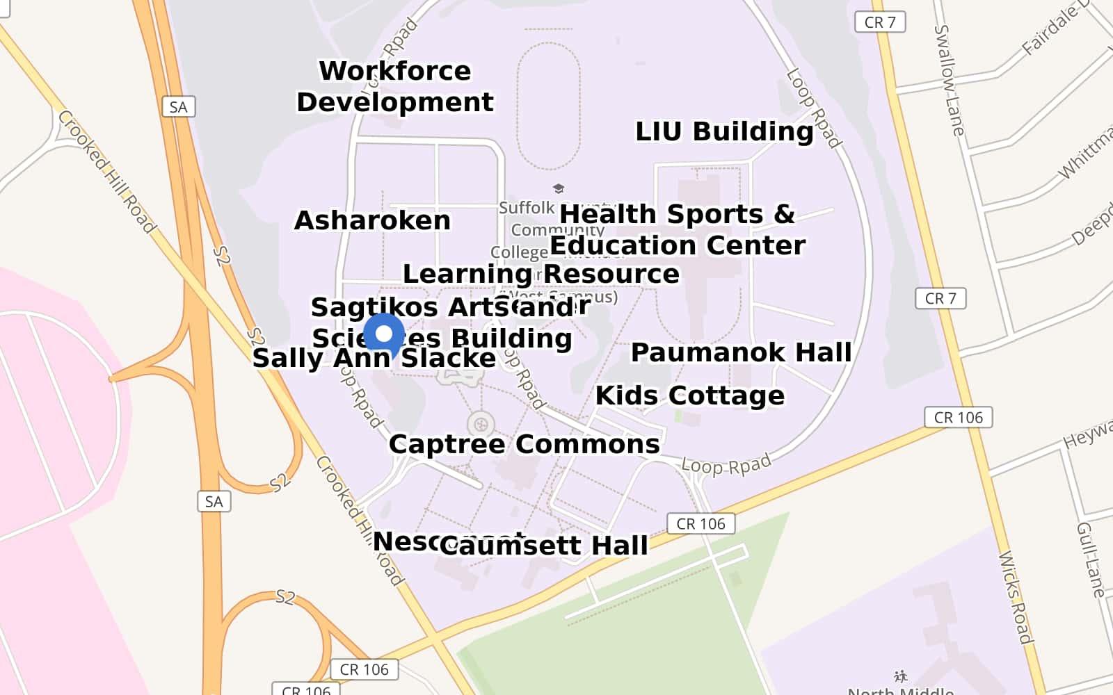 Sccc Grant Campus Map.Grant Campus Sccc By Steveevanssbu Maphub