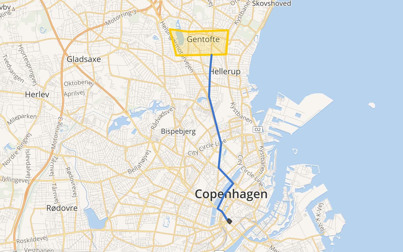 Gentofte by Rapvap · MapHub